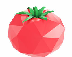 Tomato Low Poly 3D model