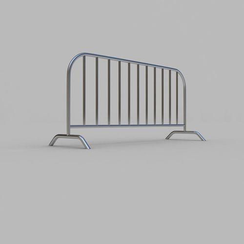 street barrier 3d model max obj mtl 3ds fbx 1