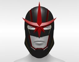 3D printable model Marvel Nova Helmet Sam