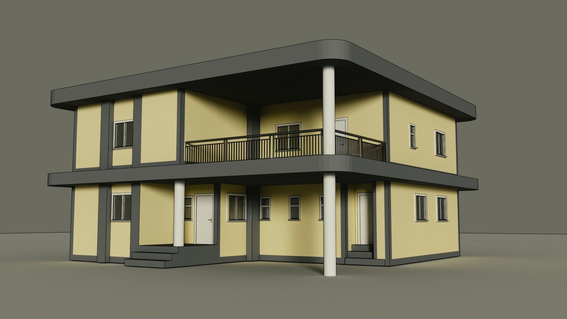 Home Made In Blender 3d Model