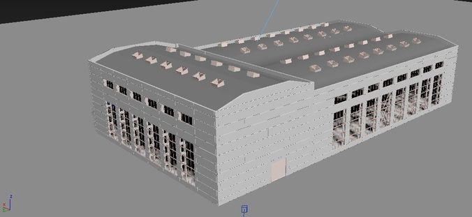 promo buiding 3d model max 3ds ms 1
