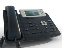 3D Office Telephone