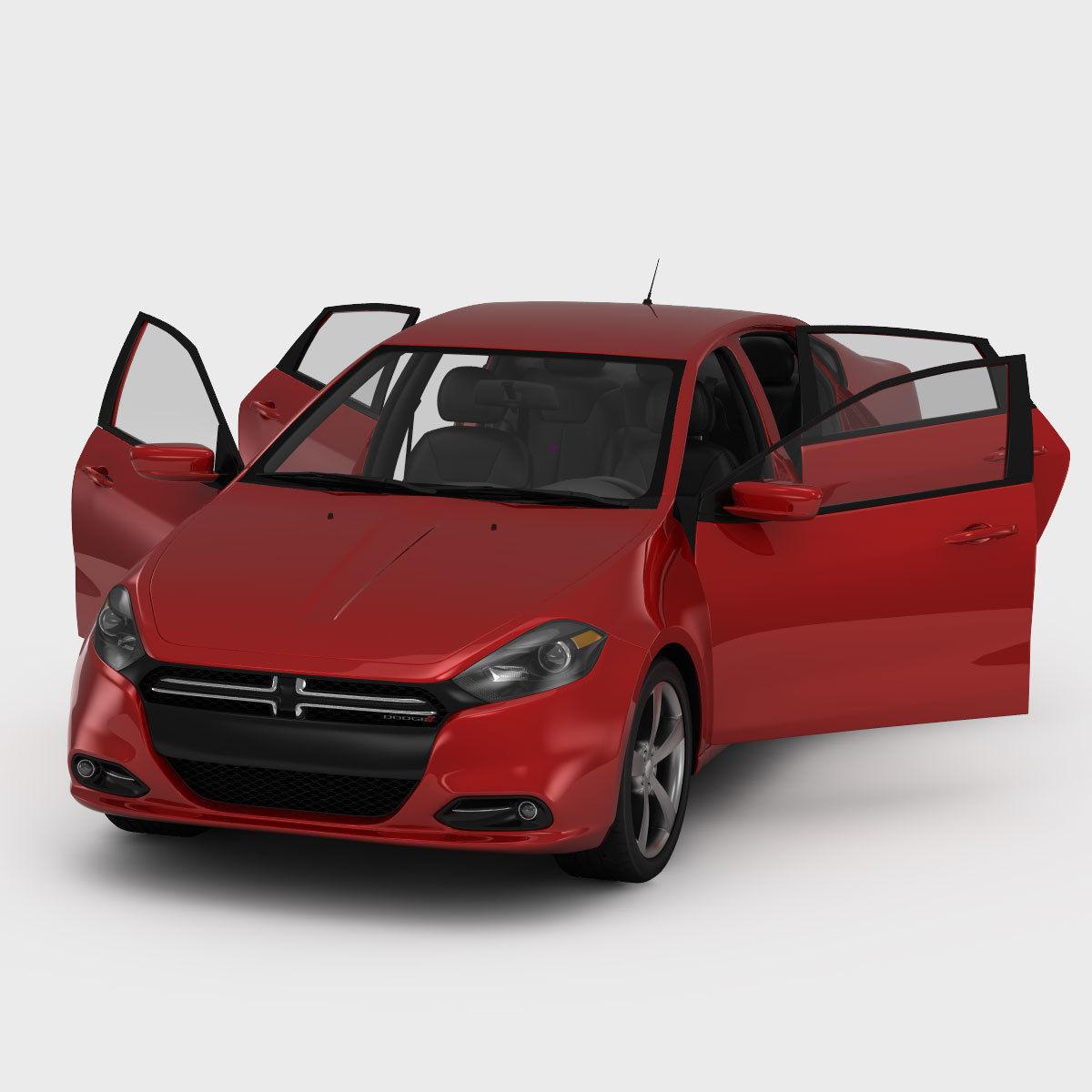 3D Dodge Dart RT 2013 | CGTrader