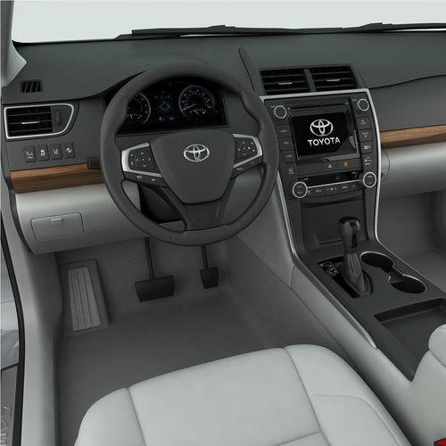Toyota Camry Xle 2015 Detailed Interior 3d Model Max Obj 3ds Fbx Mtl 19