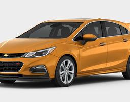 Chevrolet Cruze Hatchback 2017 detailed interior 3D