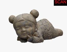PBR 3D SCAN CHILD STATUE