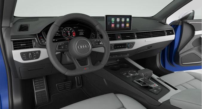 Audi S5 Coupe 2018 Detailed Interior 3d Model Max Obj 3ds Fbx Mtl 19