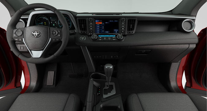 3d Toyota Rav4 Adventure 2018 Detailed Interior Cgtrader