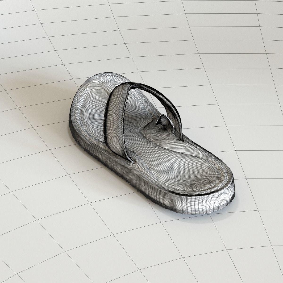 e3a4a0c278452e ... old teva sandal 3d model max fbx c4d ma mb 4 ...