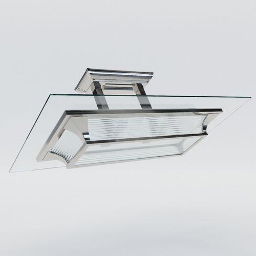 lustre paris - art deco style 3d model max obj mtl fbx pdf 1