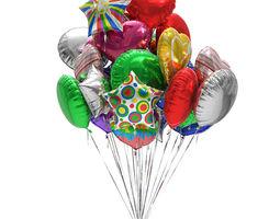 3D model Foil balloons