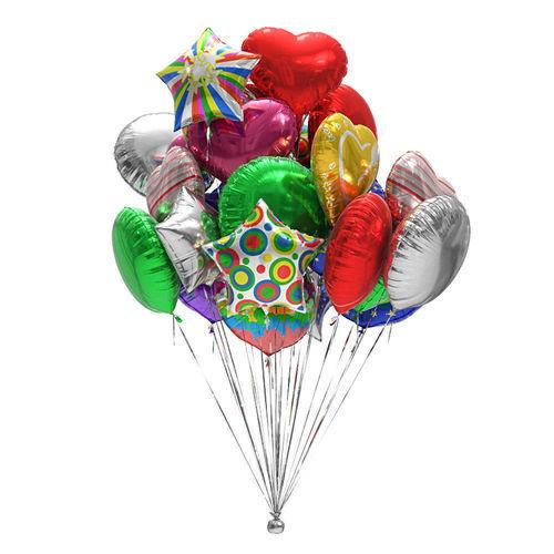 foil balloons 3d model max obj mtl mat 1