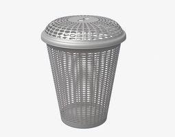 Laundry Basket V1 3D asset