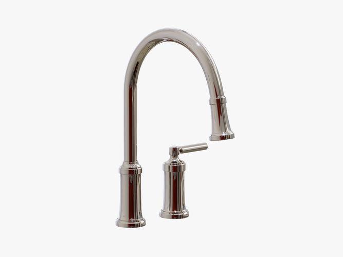 3D Kallista - Quincy Pull-Down Kitchen Faucet - P25000-00