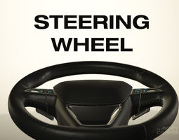 3D chevrolet Steering Wheel