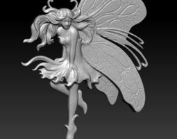 3D print model eye fairy