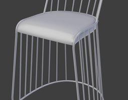 Stool 3D model PBR