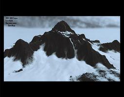 snow mountain 2 3D