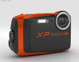 3D model Fujifilm FinePix XP90 Orange