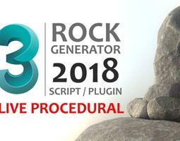 3D Rock Generator v2 2018