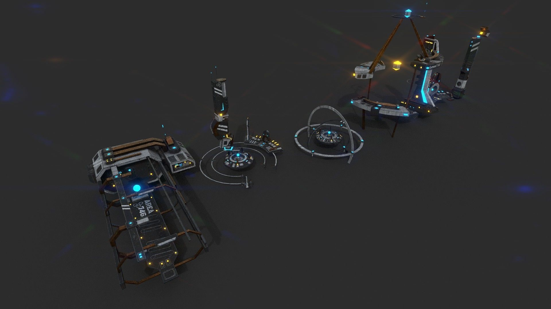 Sci-fi City 01