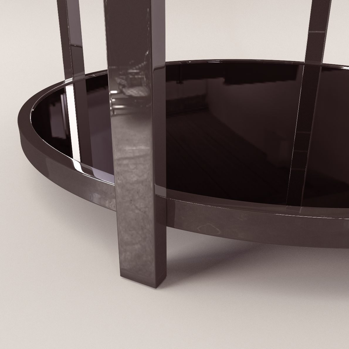 Coffee Table Art Deco Style 3d Cgtrader