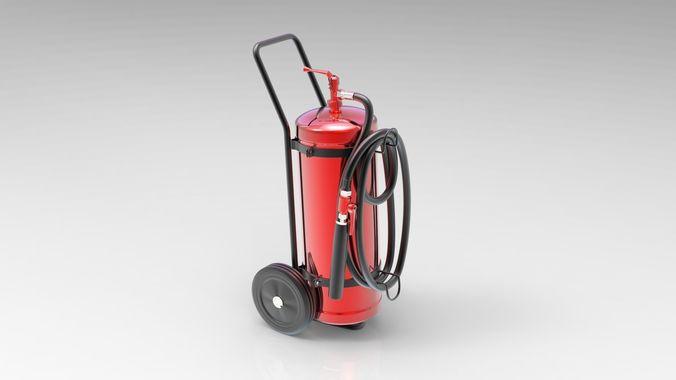 fire extinguisher 3d model max obj mtl 3ds fbx 1