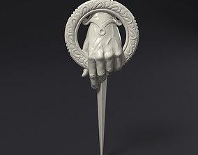 3D print model Kings Hand Badge