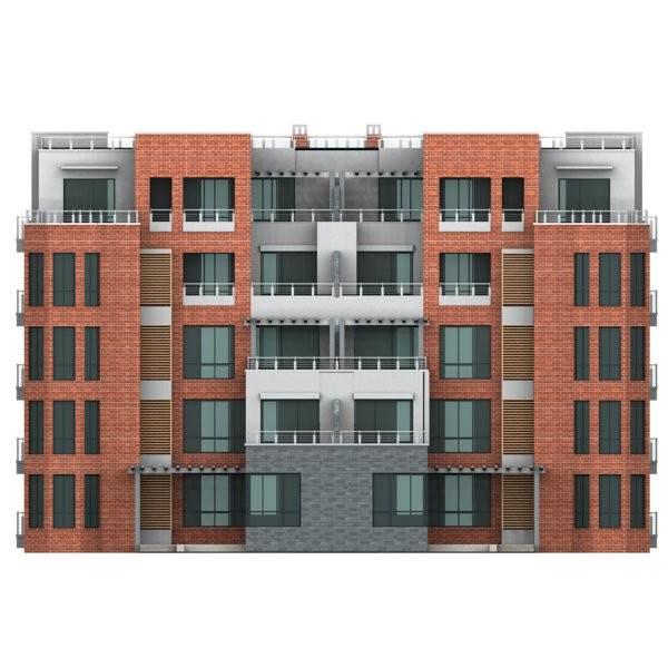 Apartment m2 007 3d model max obj 3ds for Apartment model