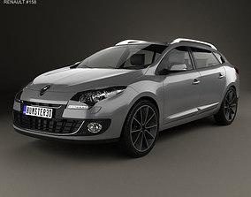 3D Renault Megane Estate 2012