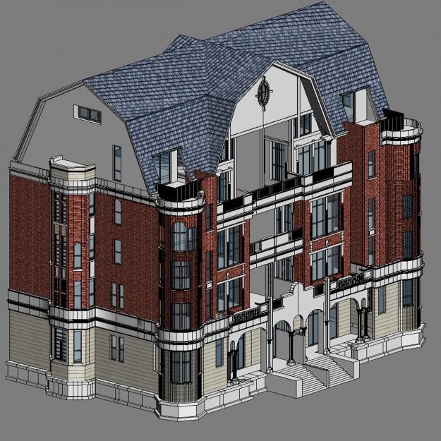 Apartment m2 012 3d model max 3ds for Apartment model