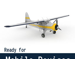 3D model DeHavilland DHC-2 Beaver