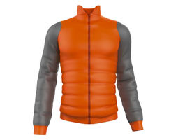 3D model polar jacket