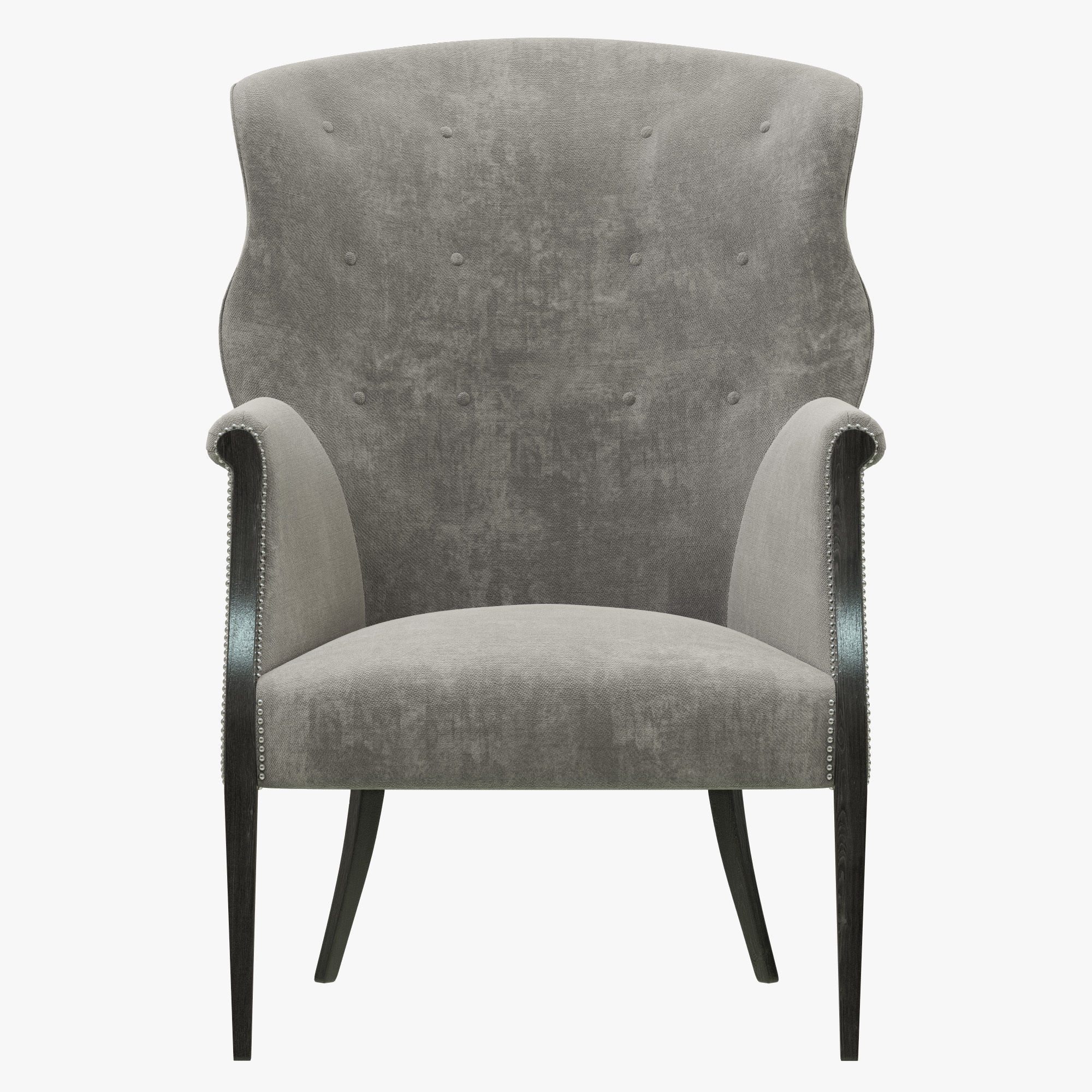 Gentil ... Restoration Hardware Edwardian Wingback Chair 3d Model Max Obj Mtl 3ds  Fbx 4 ...