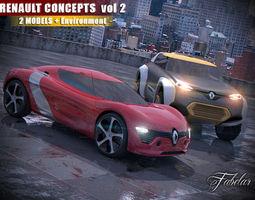 Renault concept vol 2 3D model
