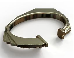Octagonal bracelet 3D printable model