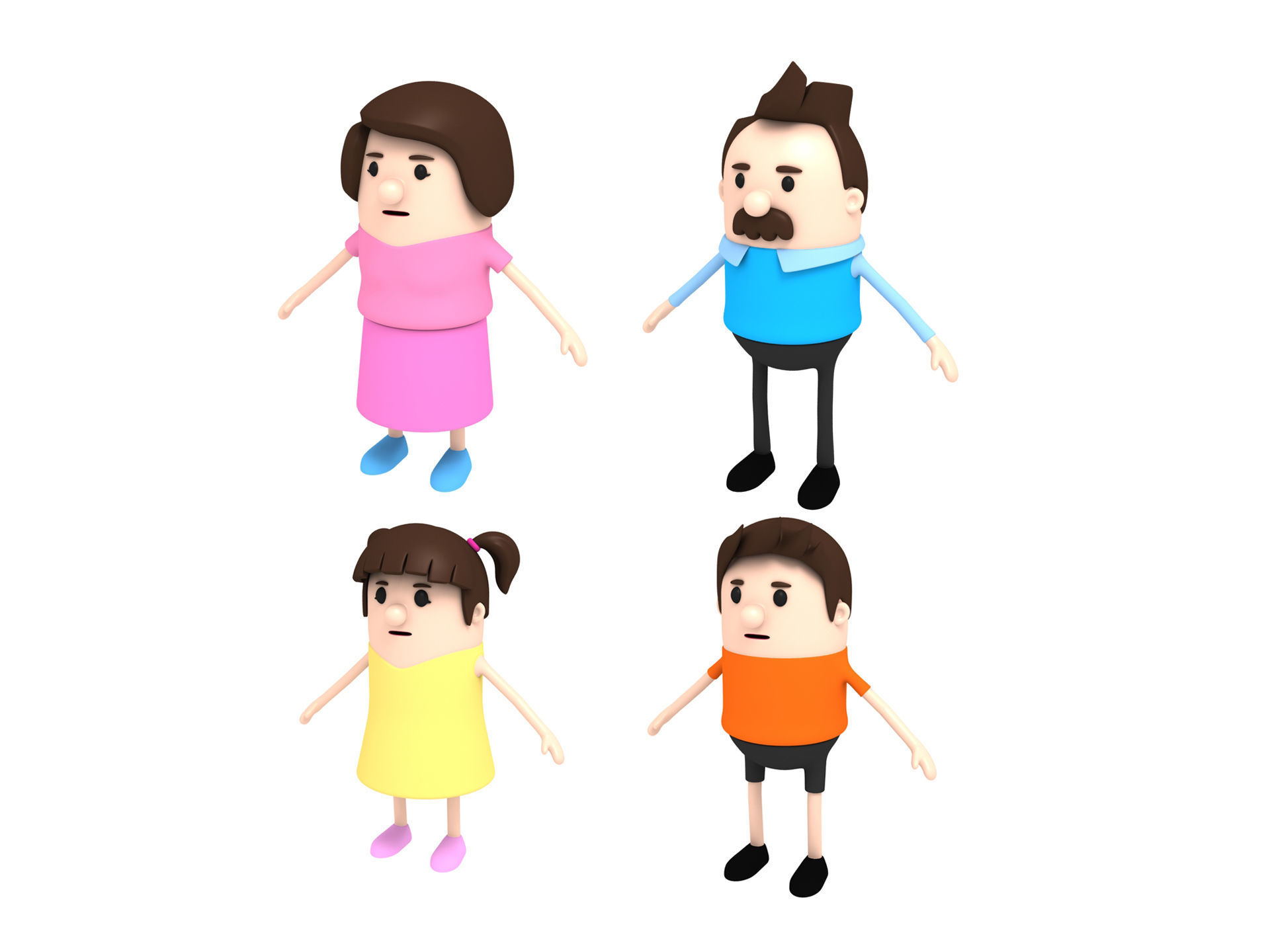 Family Character Pack