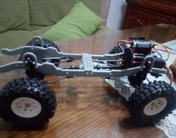 3D print model Transfer case RC car