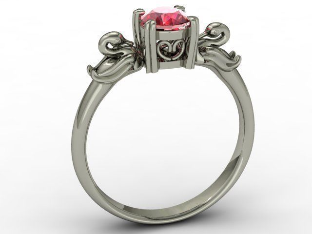 jewellery ring 3d model stl 3dm 1