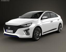 Hyundai Ioniq 2017 3D model