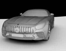 3D model Mercedes Benz AMG GTR