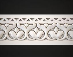 carved Moulding 3D model