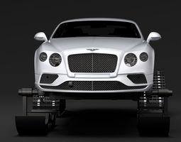 Bentley Continental GT Ski 2018 3D model