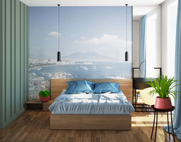 BedRoom 3D architectural