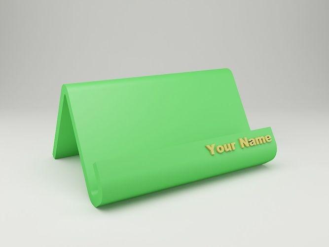 Modern business card holder 3d print model cgtrader modern business card holder 3d model stl 2 reheart Gallery