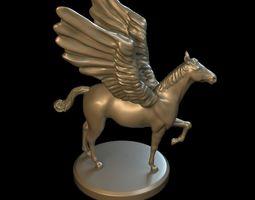 statue 3D Pegasus model