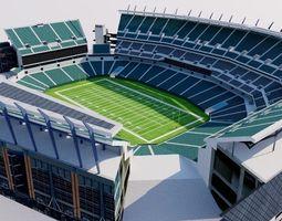 3D model Lincoln Financial Field - Philadelphia