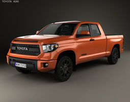 3D car Toyota Tundra Double Cab TRD Pro 2014
