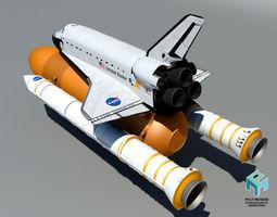 Endeavour Space Shuttle 3D model