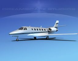 Cessna C560XL Citation V01 3D model